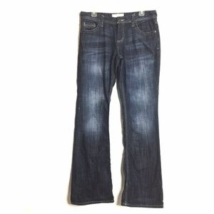 3/$30 Maurices Morgan New Boot Long Denim Jeans